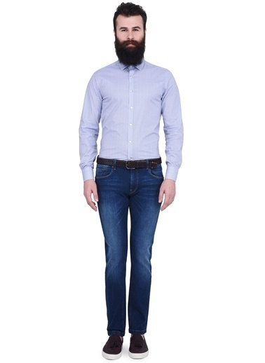 Slim Fit Gömlek-Lufian